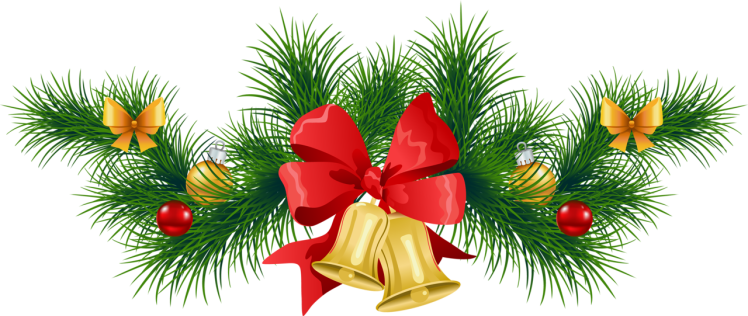 Transparent_Christmas_Pine_Garland_with_Bells_Clipart (1).png
