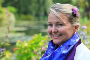 Arlene at Giverny